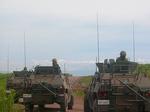 ipcat3 軽装甲機動車を使用した訓練評価支援を実施する国際活動教育隊隊員.jpg